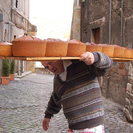 La pizza cresciuta; tradición italiana de pascua
