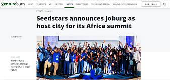 Seedstars announces Joburg as host city