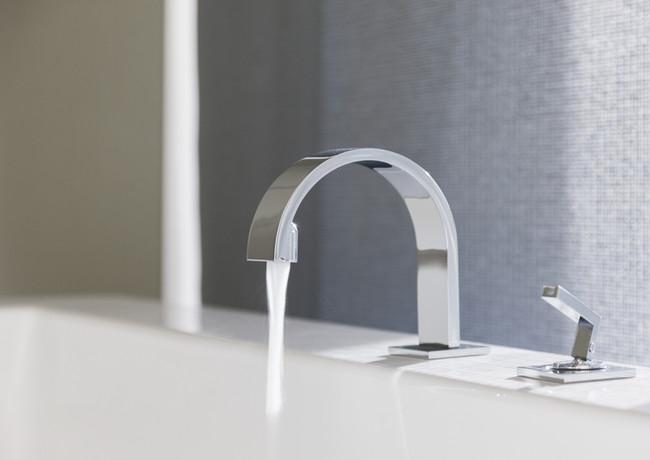 Robinet de salle de bains