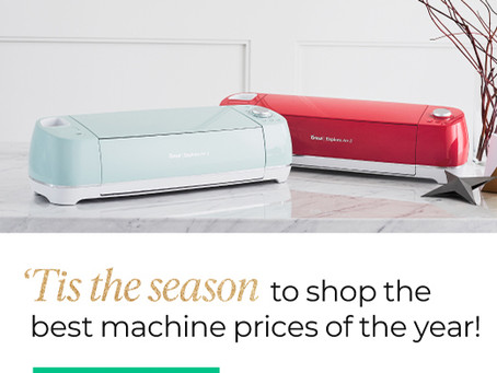 Cricut Black Friday, Small Business Saturday and Cyber Monday 2019 Sales
