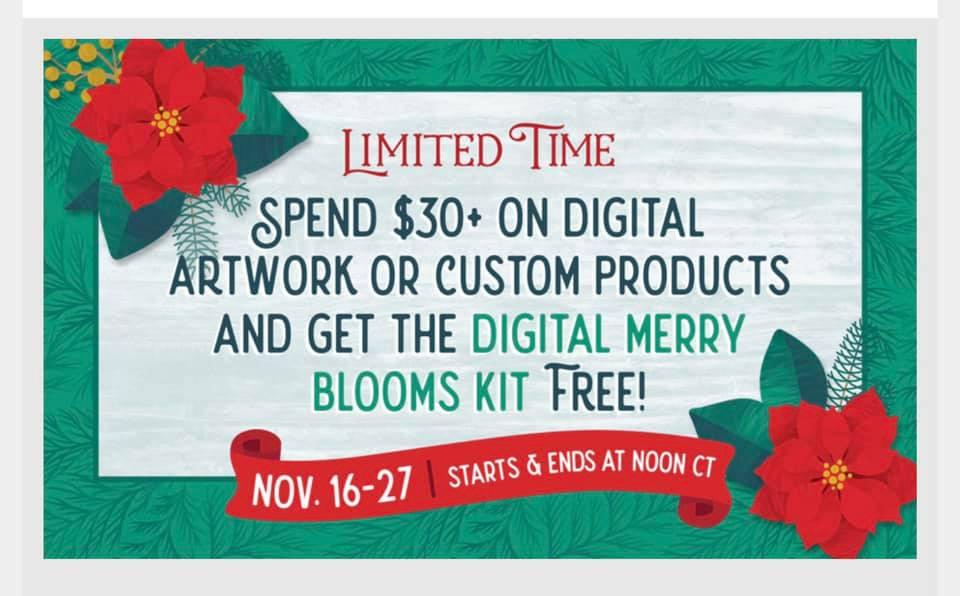 Digital Kit Available, too!