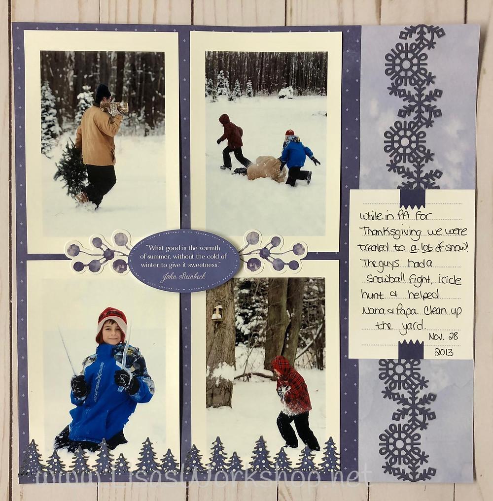 Winterberry collection by Creative Memories. Lisa Graham, CM Advisor