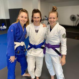 Andreea Blue Belt