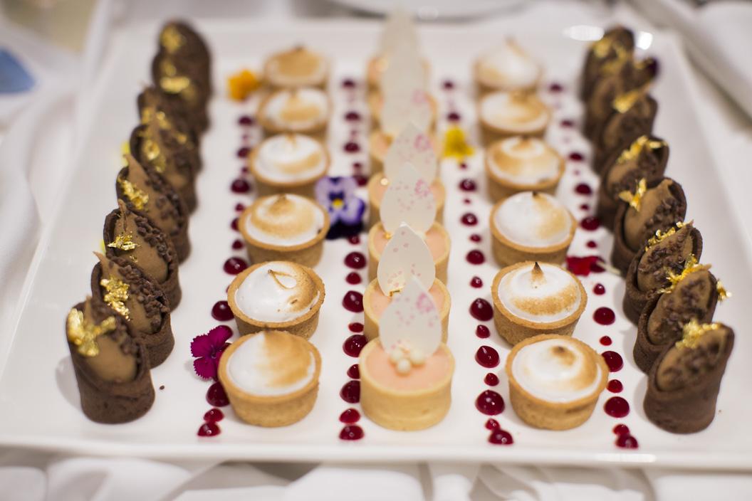 St. Clair Ballroom Desserts