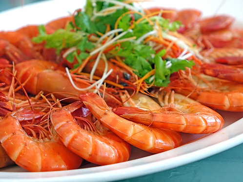 2033 Whole Cooked Prawn 10/15