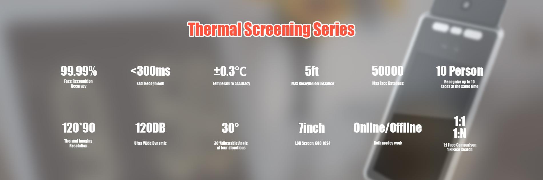 TSK01  temperature screening thermal