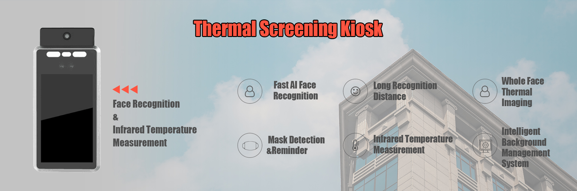 TSK-01 temperature screening thermal