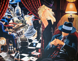The Party Artist:  Victor Ostrovsky