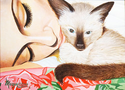 Ruby Mazur Cat