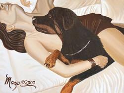 Ruby Mazur Dog