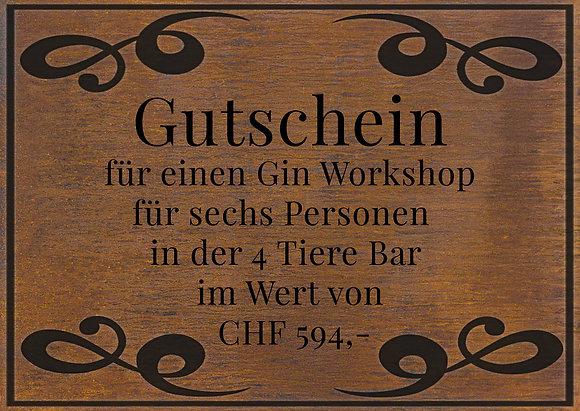 Gin Workshop für 6 Personen