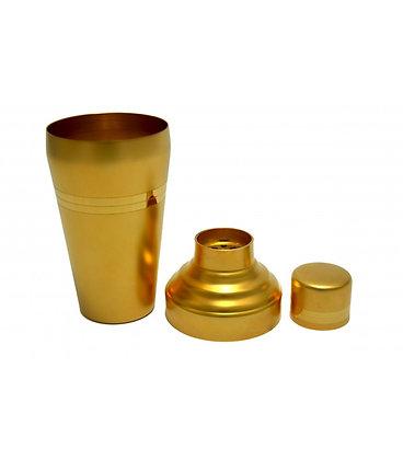 Baron Shaker gold matt mit Goldstreifen, 510ml