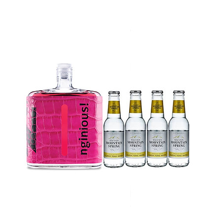 nginious! Colours: Pink inkl. 4 Swiss Mountain Tonic
