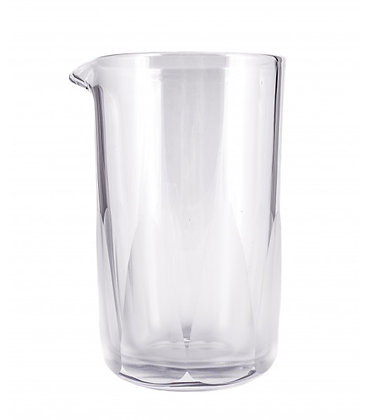 Rührglas mit Milchglasverzierung, 520ml