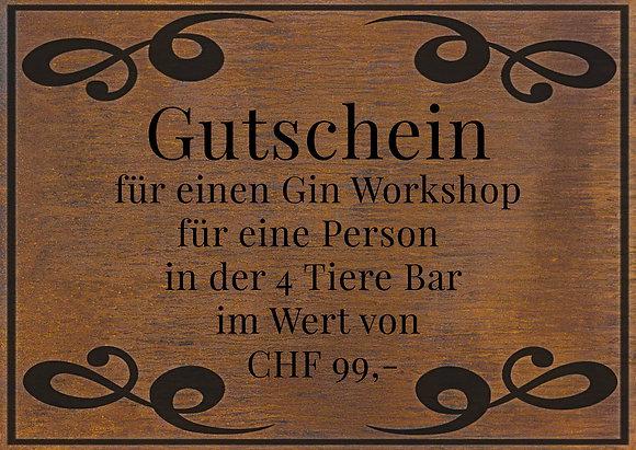 Gin Workshop für 1 Person
