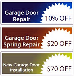 10% DISCOUNT COUPONS GARAGE DOOR REPAIR , 20% DISCOUNT COUPON SPRING REPAIR , $70 OFF ! DISCOUNT COUPONS GARAGE DOOR INSTALLATION