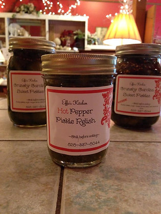 Hot Pepper Pickle Relish