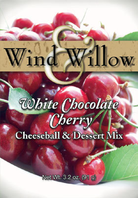 White Chococoate Cherry Cheeseball & Dessert Mix