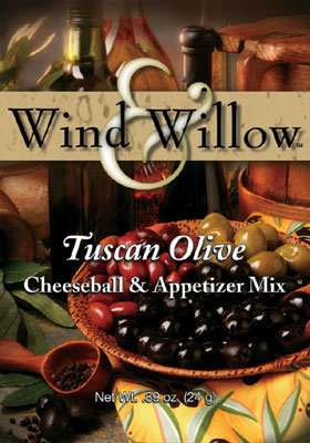 Tuscan Olive Cheeseball & Appetier Mix