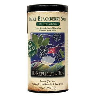 Blackberry Sage Black Tea for Wisdom (Decaf)