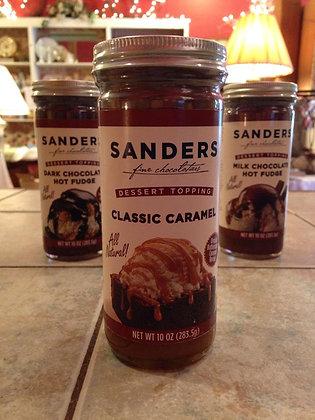 Sanders Classic Caramel Dessert Topping