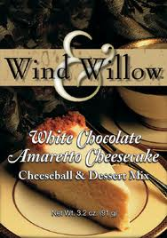 White Chocolate Amaretto Cheesecake Cheeseball