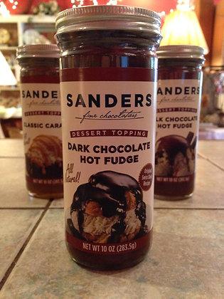 Sanders Dark Chocolate Hot Fudge Dessert Topping
