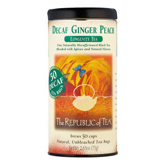 Ginger Peach Longevity Black Tea (Decaf)