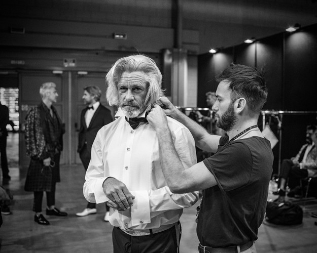 Billionaire couture show, Milano.