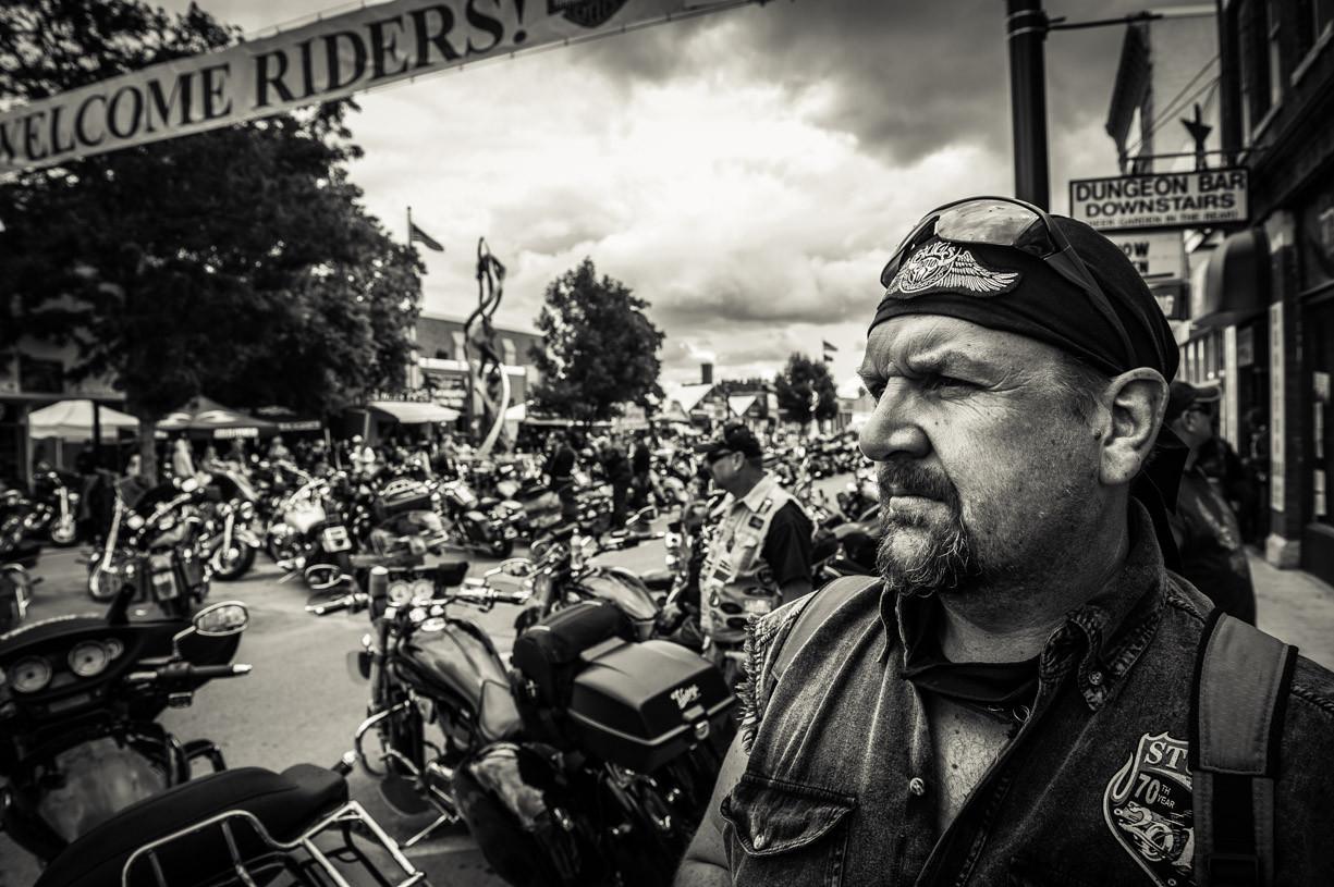 Sturgis bike rally, South Dakota,USA.