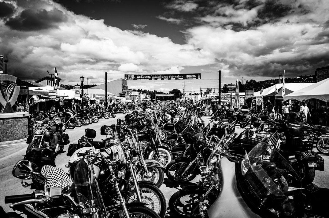 Sturgis bike rally, South Dakota,USA.