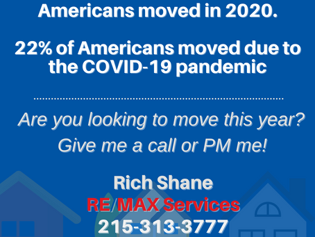 The Pandemic Didn't Stop Americans from Moving in 2020