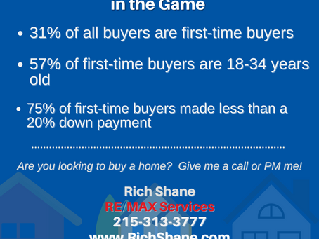 First-Time Buyers are Back!