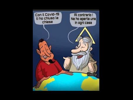 P. Alberto Maggi -  Dio è nella parola, non nella messa in streaming