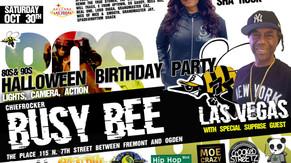 BUSY BEE HALLOWEEN BIRTHDAY !!!!