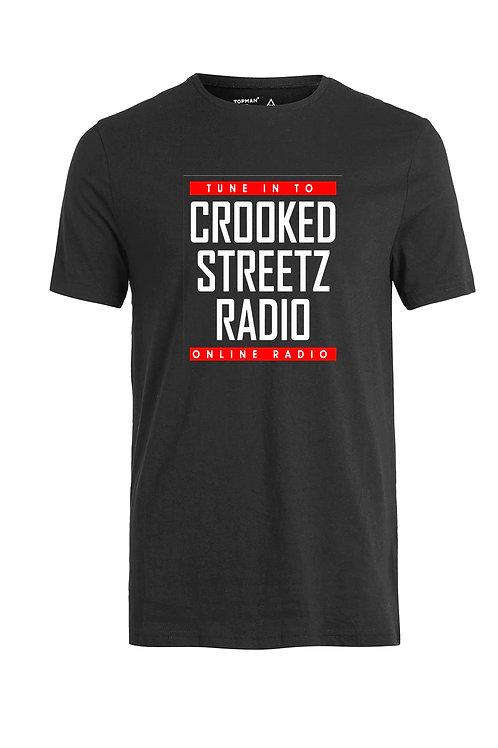 Crooked Streetz Radio Tee Shirt