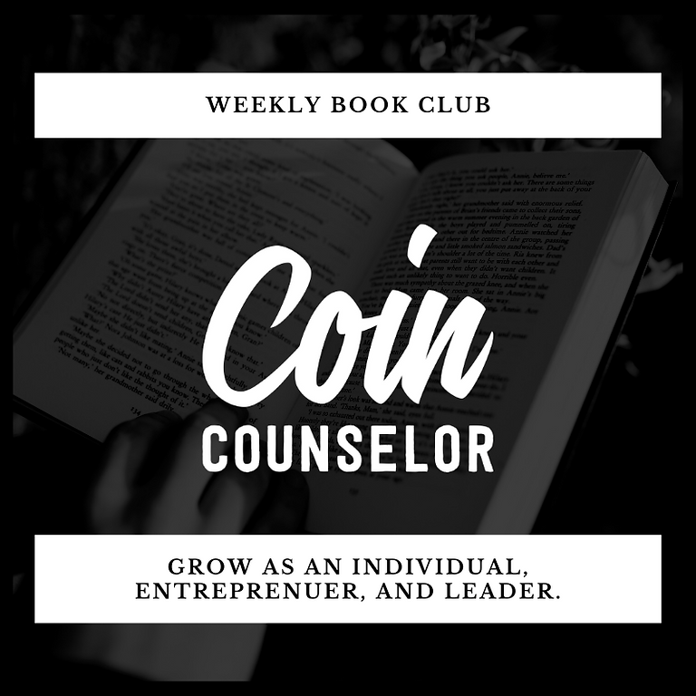 Coin Counselor Book Club