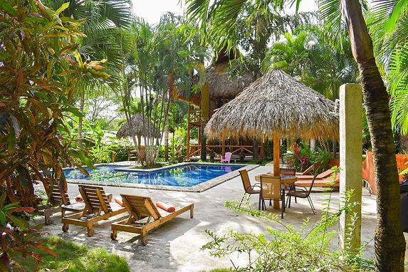 Pool Area - Fuego Lodge Yoga Resort, Santa Teresa Beach, CR