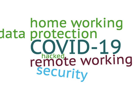 With Coronavirus putting pressure on businesses to allow remote working, Information Security is key