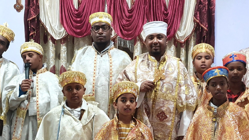 2nd Generation Deacon of Debre Amin Teklehiamont Ethiopian Orthodox Tewahdo Church