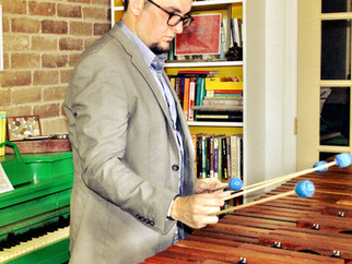 Guest Marimba Soloist Ryan Pride, Performs in New Orleans Friday May 12th
