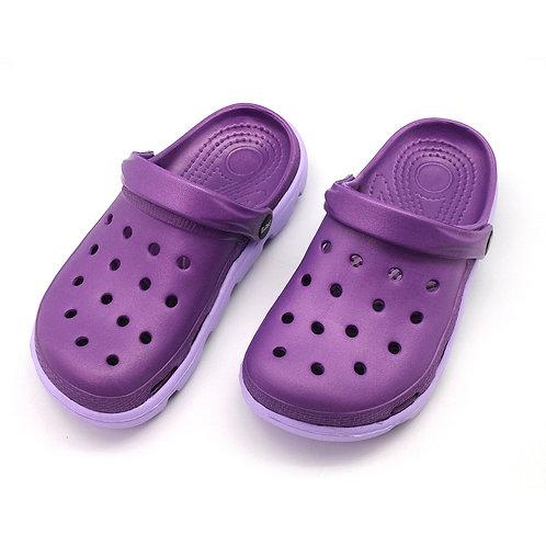 極簡俐落室外拖鞋-紫
