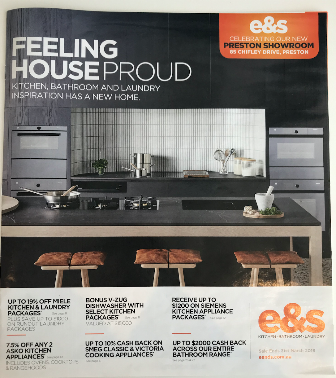 E&S MARCH CATALOGUE