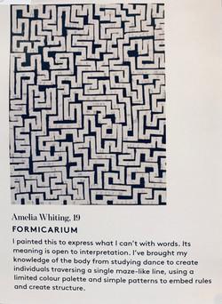 AMELIA WHITING : FORMICARIUM