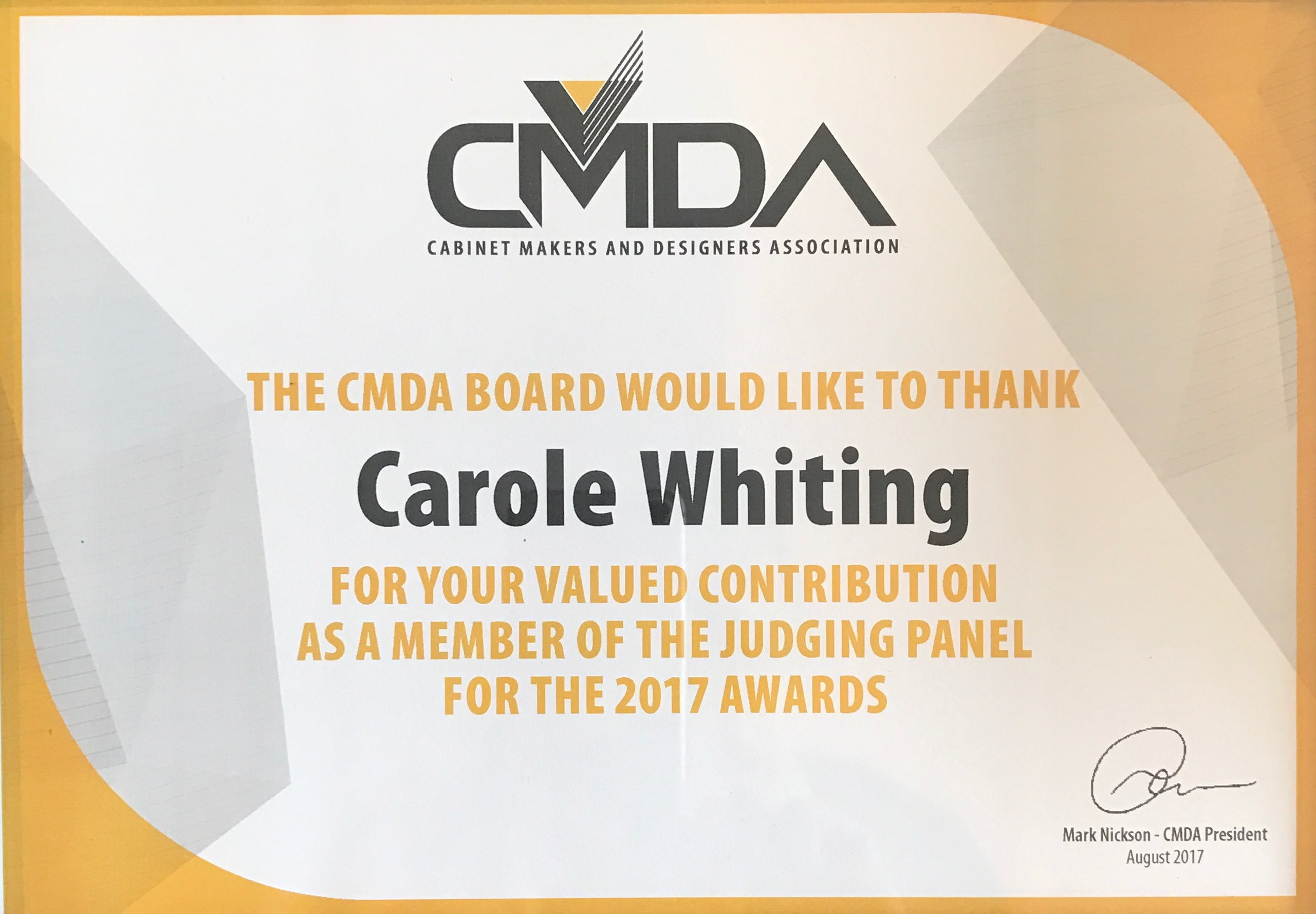 2017 CMDA