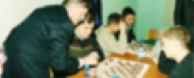 Анатолий Карпов объясняет тонкости игры в таврели