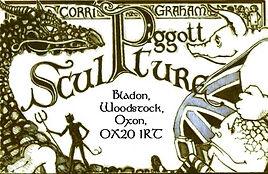 Piggott Sculpture Business Card