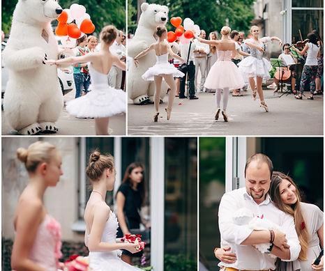 сюрприз жене на вписку из роддома огранизация в городе одесса