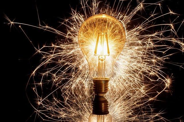 Ampoule qui scintille