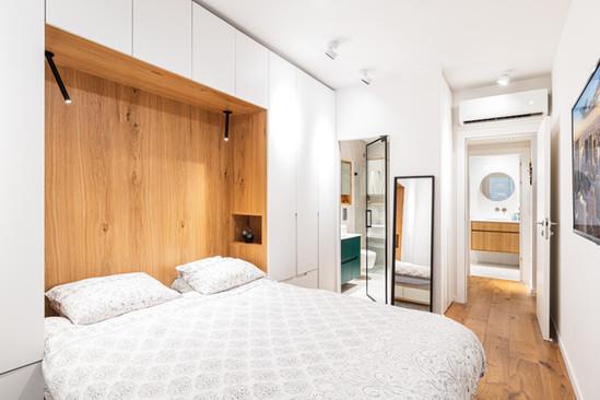 מיטה משולבת ארון